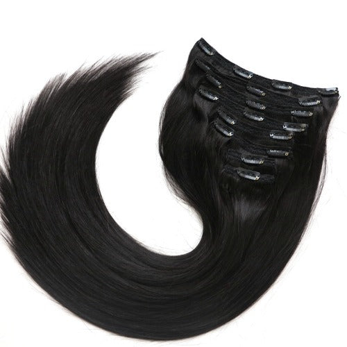 Clip-in Extensions: schwarz 1