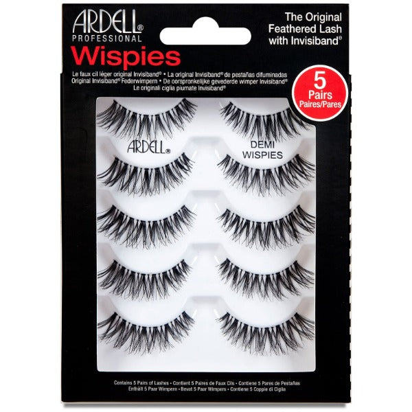 Ardell Demi Wispies 5er Pack mit Wimpernapplikator