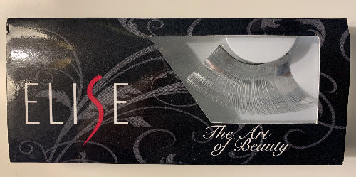 Elise Faux Eyelashes Metallic Silber