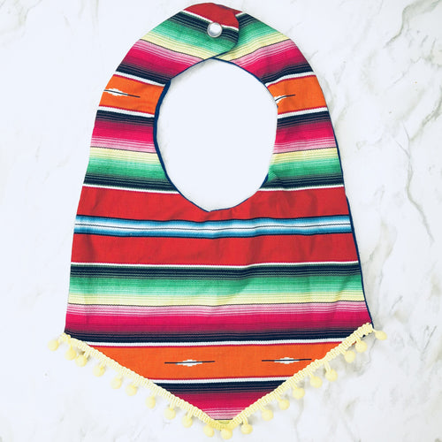 Fiesta Boho Bib - Red