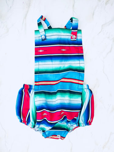 Fiesta Baby Romper - Turquoise