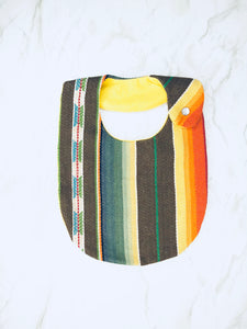 Serape Bib - Brown