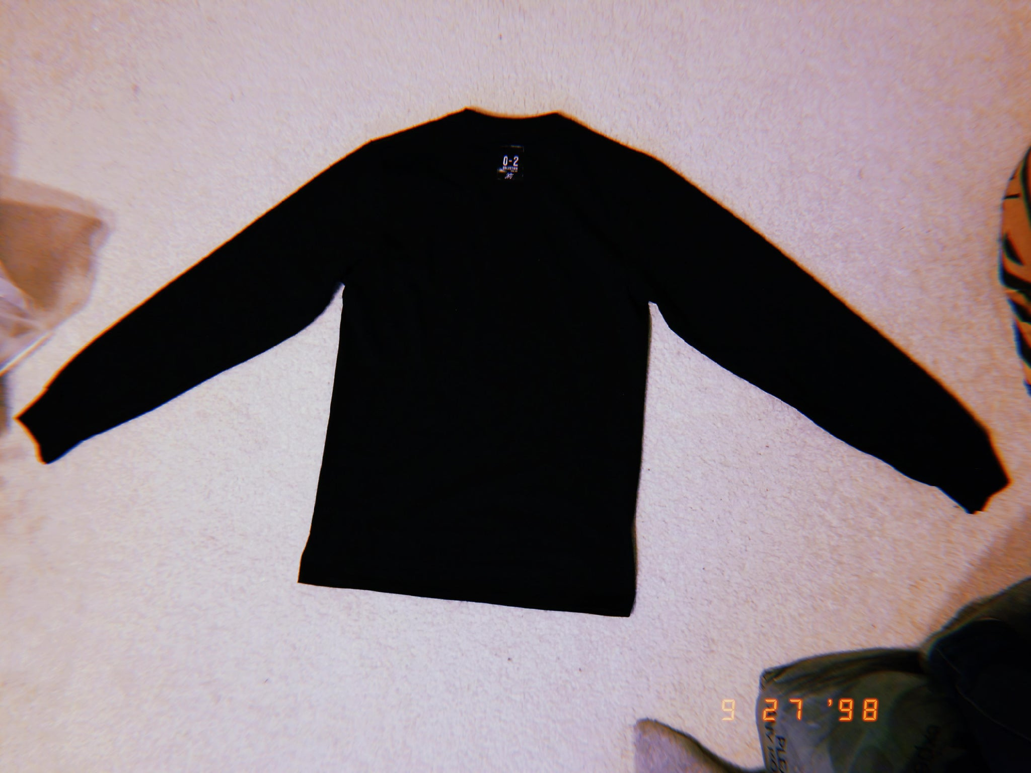 """THE 0-2: LONG SLEEVE TEE"" (final restock)"