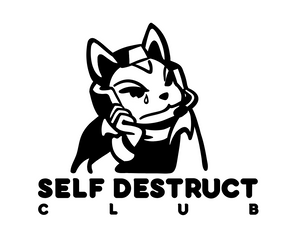 'Self-Destruct Club' Sweater (RESTOCK)