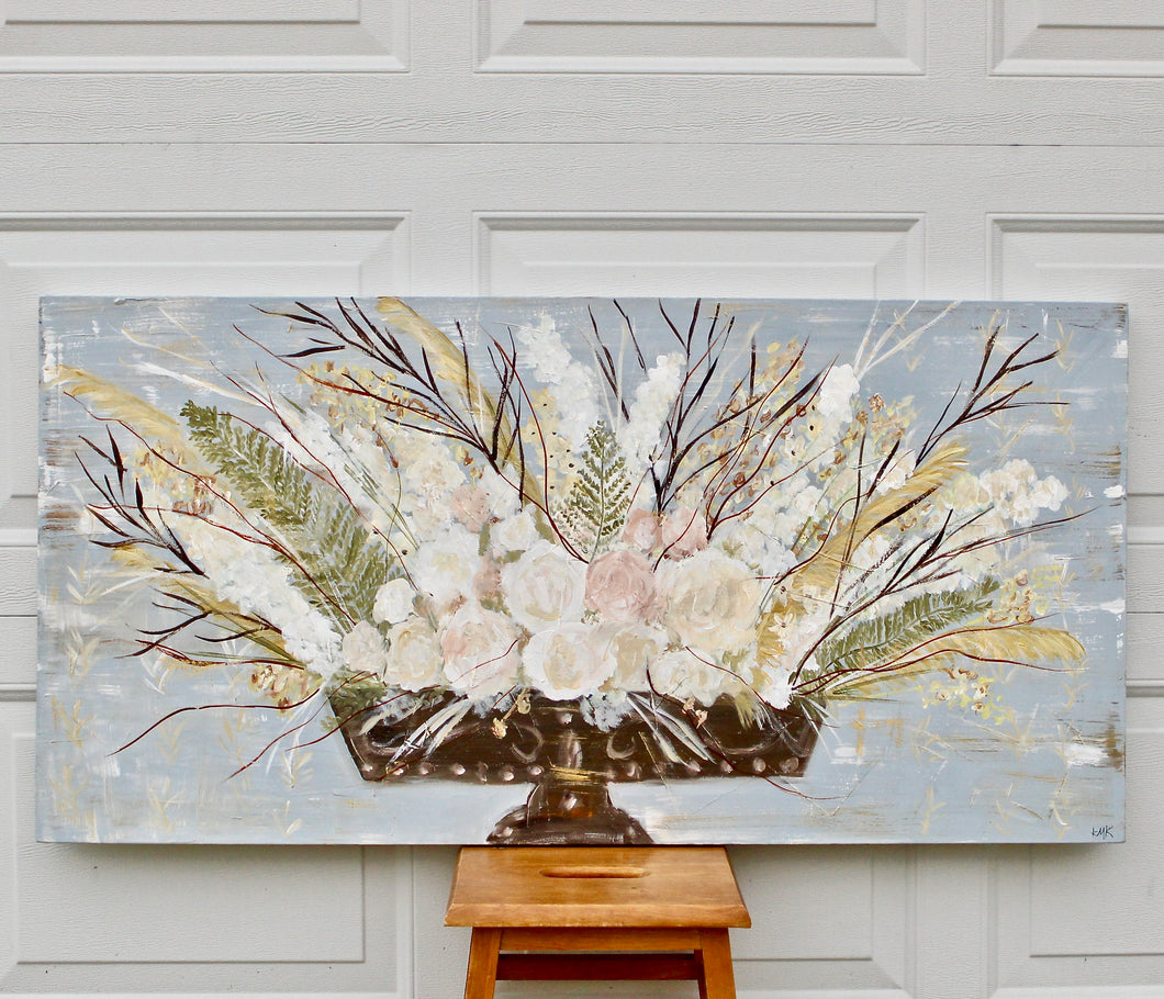 Traditional Floral-horizontal 24 x 48