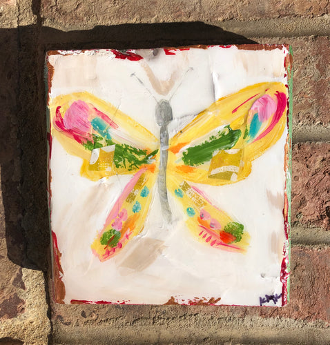 Butterfly wood block