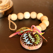 Decorative wood beads