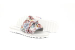 Amelia Women's Sandals in Printed Suede with EVA Soles - Alfred Cloutier Ltd. - Canada