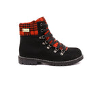 ALFRED C.® Aisha 8C53 Women's Winter Boot with Retractable Cleats - Scottish - Alfred Cloutier Ltd. - Canada