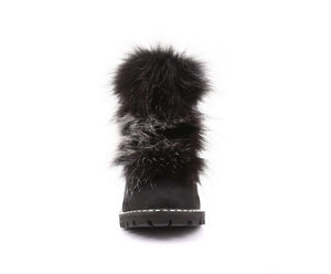 Bella Women's Winter Boot with Recycled Fur and Retractable Cleats - Alfred Cloutier Ltd. - Canada
