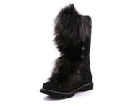 Bella Grande Women's Winter Boot with Recycled Fur and Retractable Cleats - Alfred Cloutier Ltd. - Canada