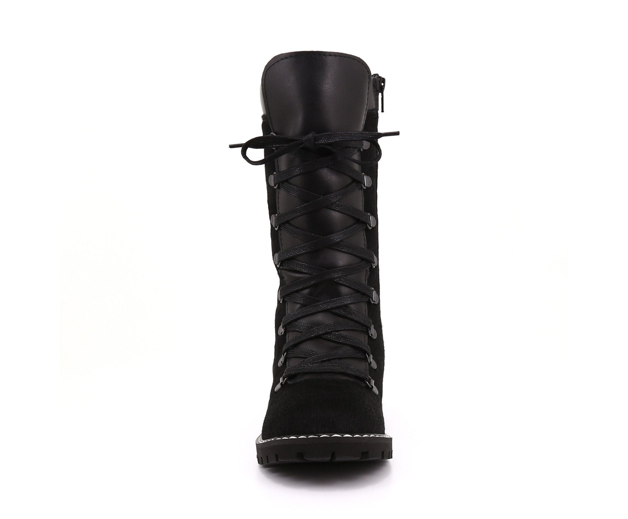 Brianna Grande Women's Winter Boot in Hairy Leather with Retractable Cleats - Alfred Cloutier Ltd. - Canada