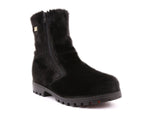 Hudson Men's Winter Boot in Natural Sealskin with Retractable Cleats - Alfred Cloutier Ltd. - Canada