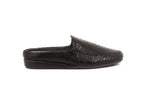 ZEROSTRESS ® Austin 4A14 Men's Slippers in Snake Print Microsuede with Suede Sole - Alfred Cloutier Ltd. - Canada
