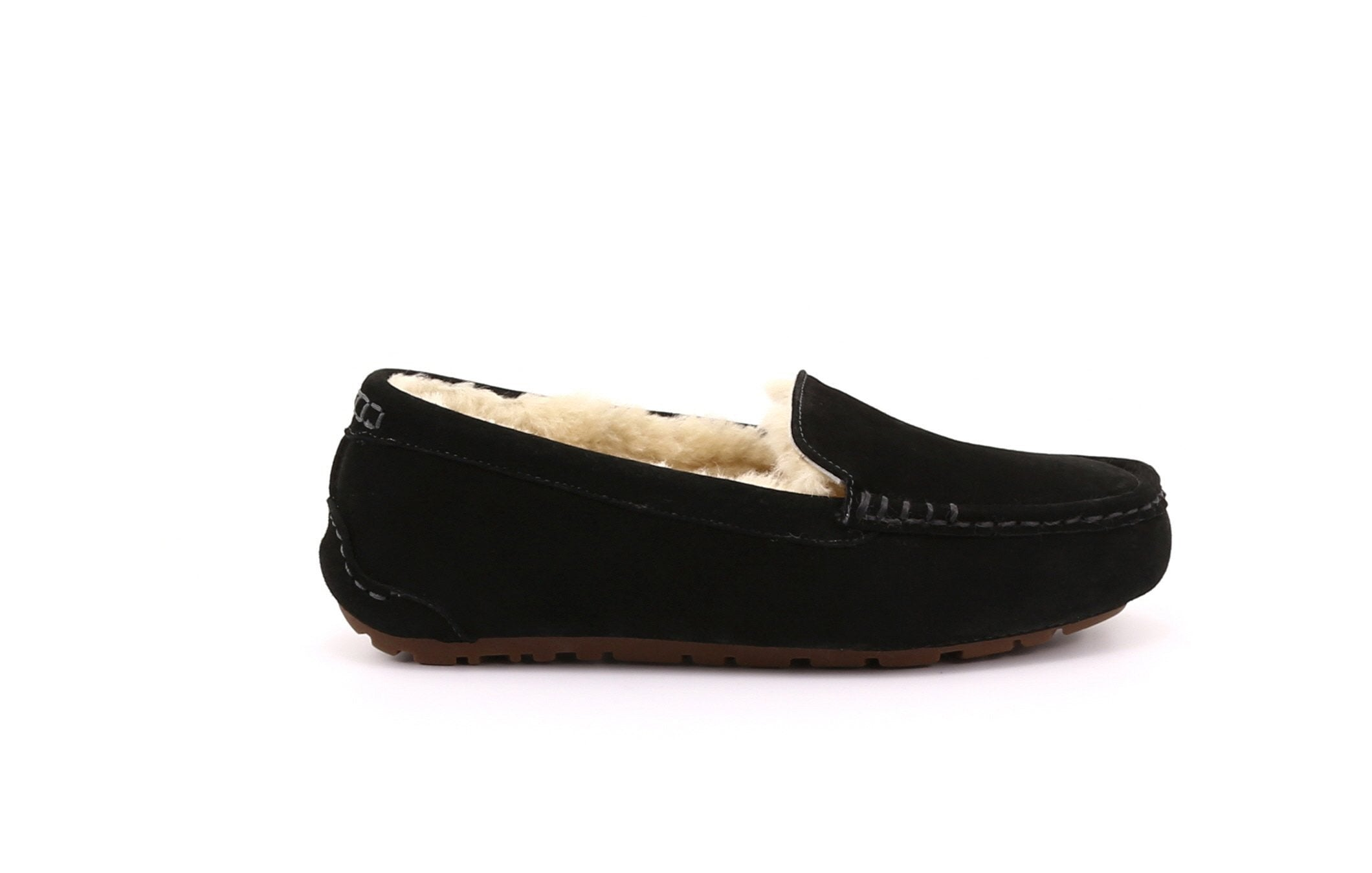 Anna Women's Shearling Slippers with Thermoplastic Rubber Sole - Alfred Cloutier Ltd. - Canada