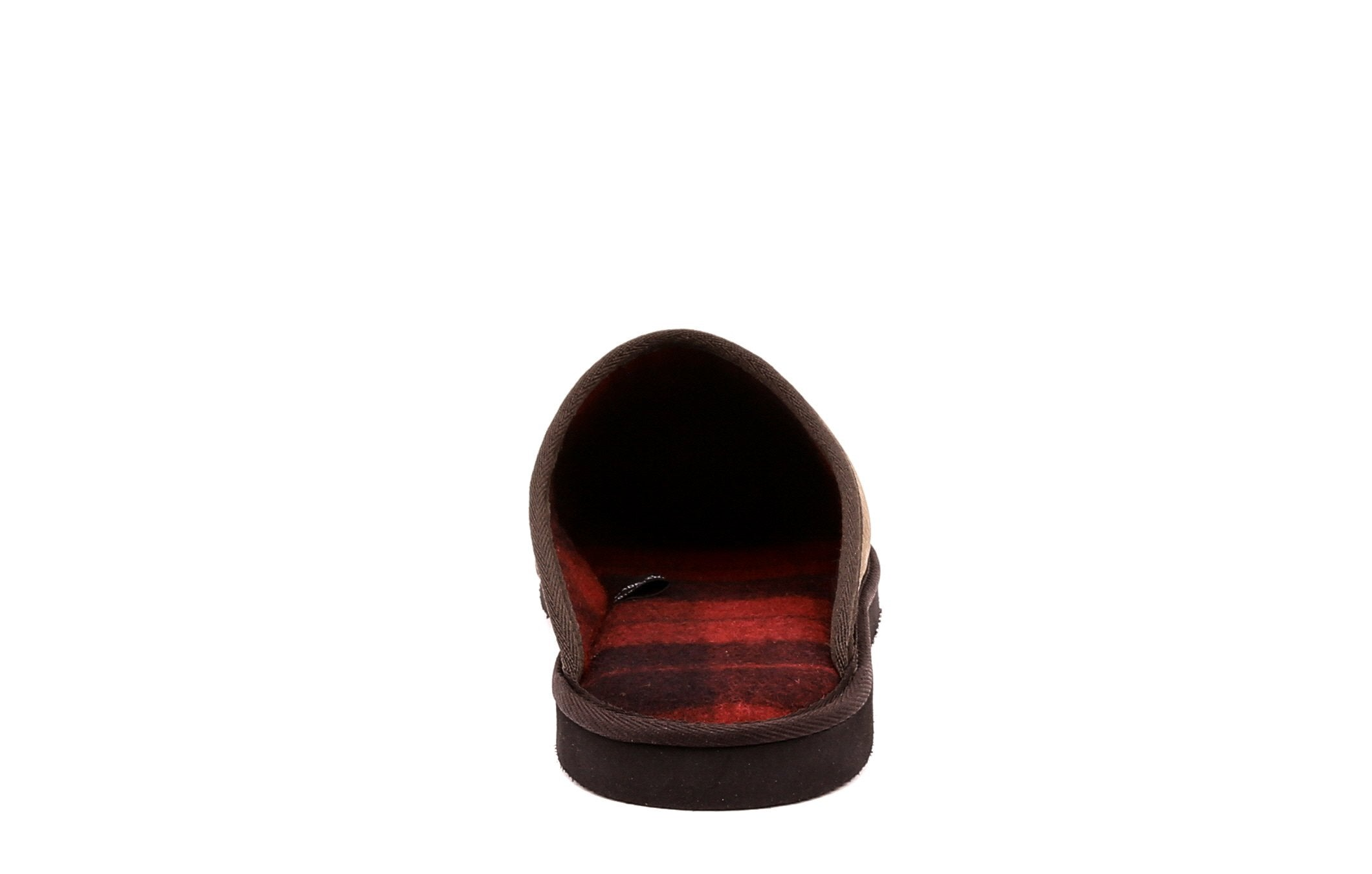 Carson Men's Mule Slippers in Genuine Leather - Alfred Cloutier Ltd. - Canada