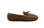 Franklin Men's Shearling Moccasin Slippers with Thermoplastic Rubber Sole - Alfred Cloutier Ltd. - Canada