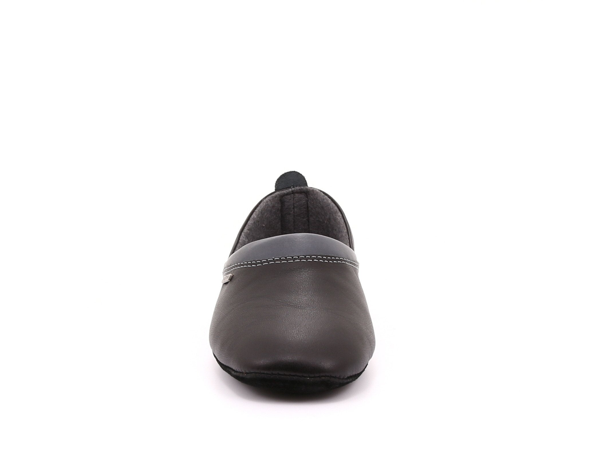 Jackson Men's Leather Slippers with Suede Sole - Alfred Cloutier Ltd. - Canada
