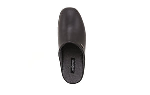 Jasper Men's Leather Slippers with Suede Sole - Alfred Cloutier Ltd. - Canada