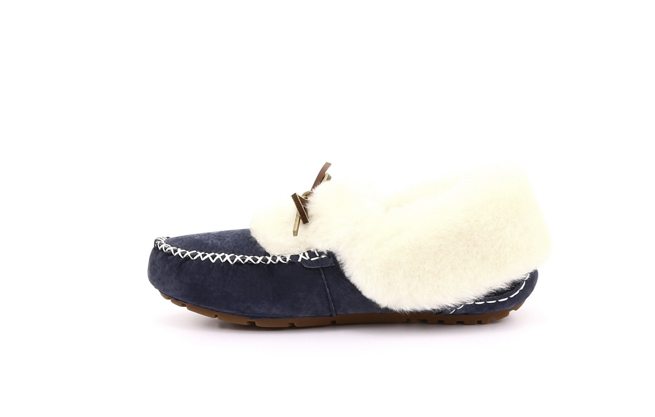 Lynette Women's Suede Slippers with Thermoplastic Rubber Sole - Alfred Cloutier Ltd. - Canada