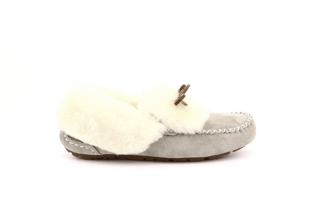 ZEROSTRESS® Lynette 2A24 Women's Suede Slippers with Thermoplastic Rubber Sole - Alfred Cloutier Ltd. - Canada