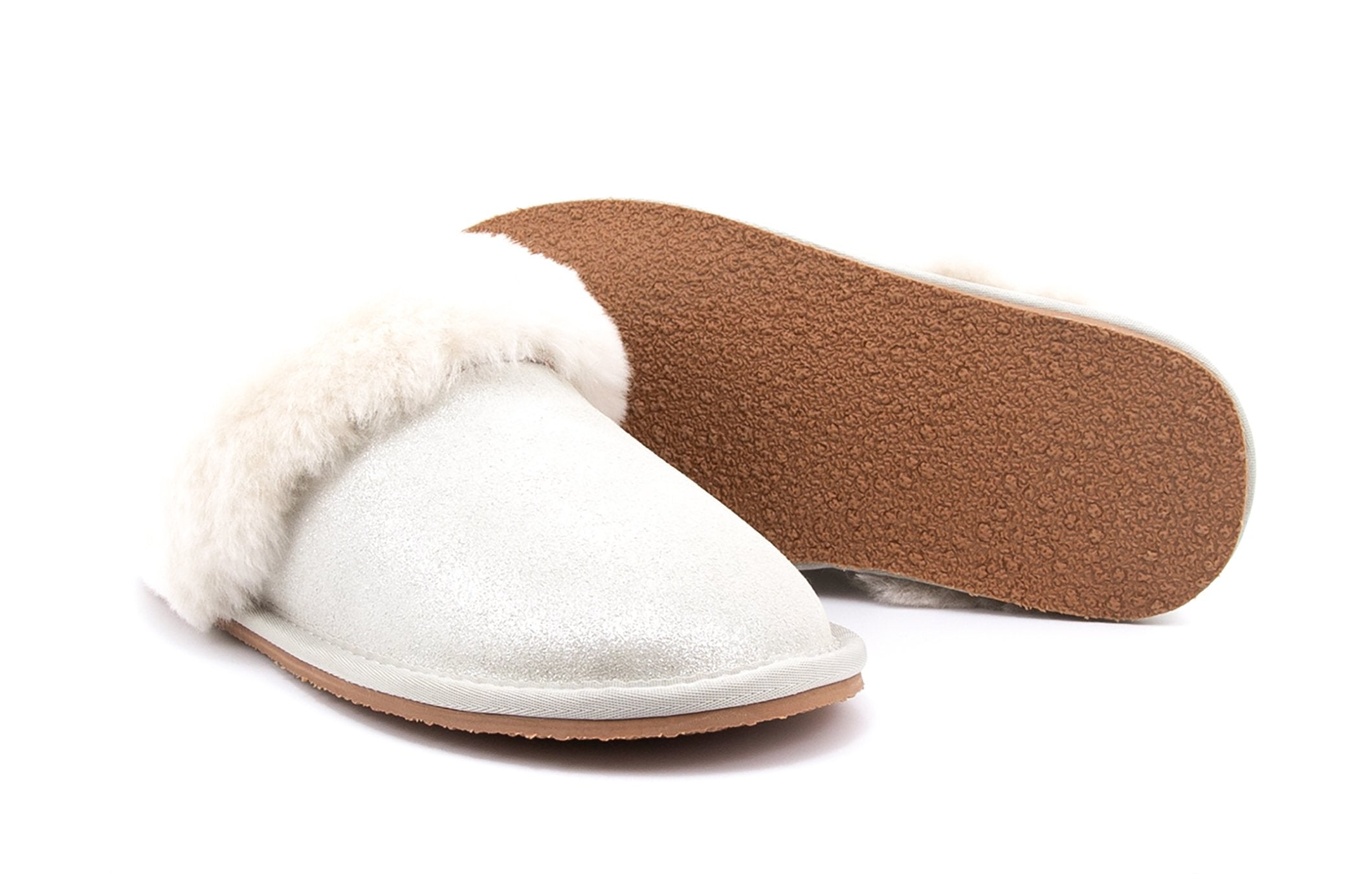 ZEROSTRESS® Tanya 7004 Women's Shearling Slippers with Thermoplastic Ruber Sole - Alfred Cloutier Ltd. - Canada