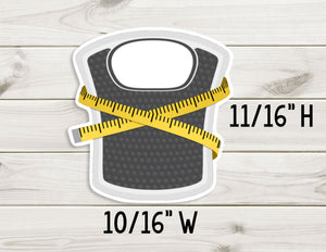 Weight Scale - Planner Stickers - Paper Focus Co.