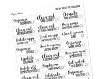 30-Day Declutter Challenge - Paper Focus Co.