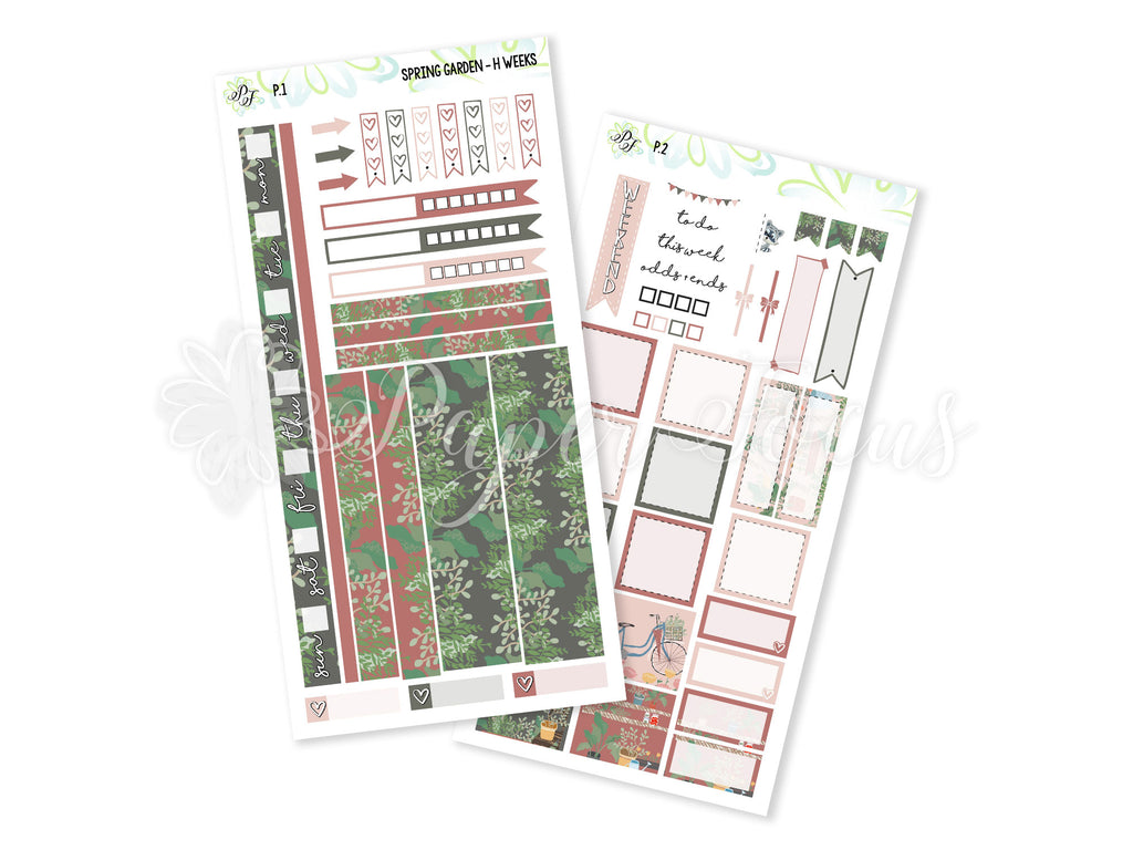 Spring Garden Weekly Kit - For Hobonichi Weeks