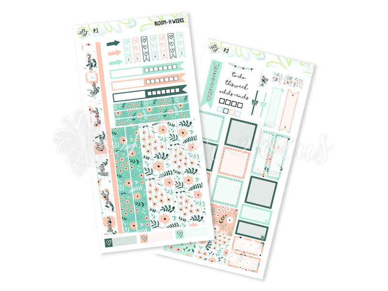 Bloom Weekly Kit - For Hobonichi Weeks