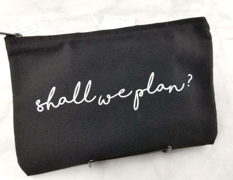 Planner Pen Pouch - Shall We Plan - Planner Accessories