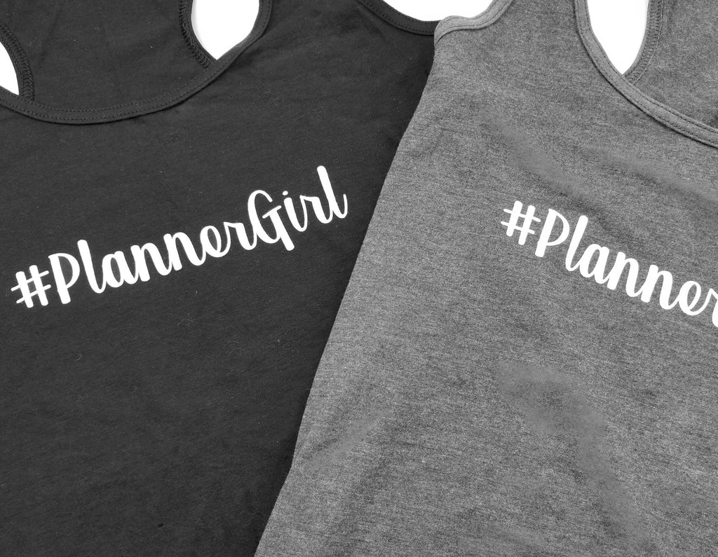#PlannerGirl Tank - Paper Focus Co.