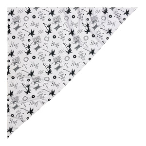 banditto headwear head accessory multifunctional bandana sports black white palm trees upf uv protection surf mountain trekking running beach