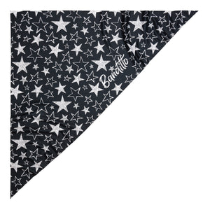 banditto headwear head accessory multifunctional bandana sports stars black white graphite upf uv protection surf mountain trekking running beach