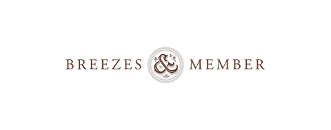 Breezes wine club member wordmark