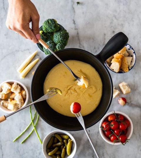 Cheese Fondue for the whole family