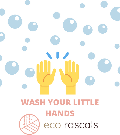 Washing our little hands