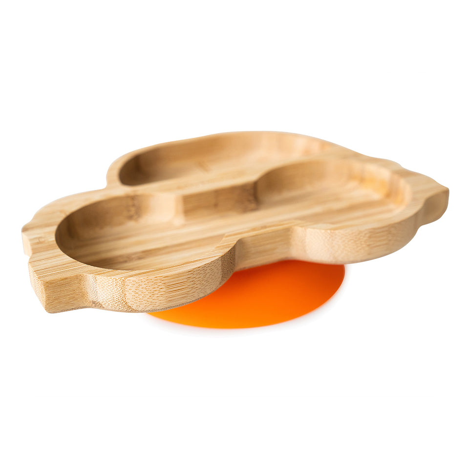 Bamboo car plate with super suction base