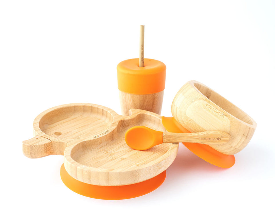 bamboo duck suction plate-Ecorascals