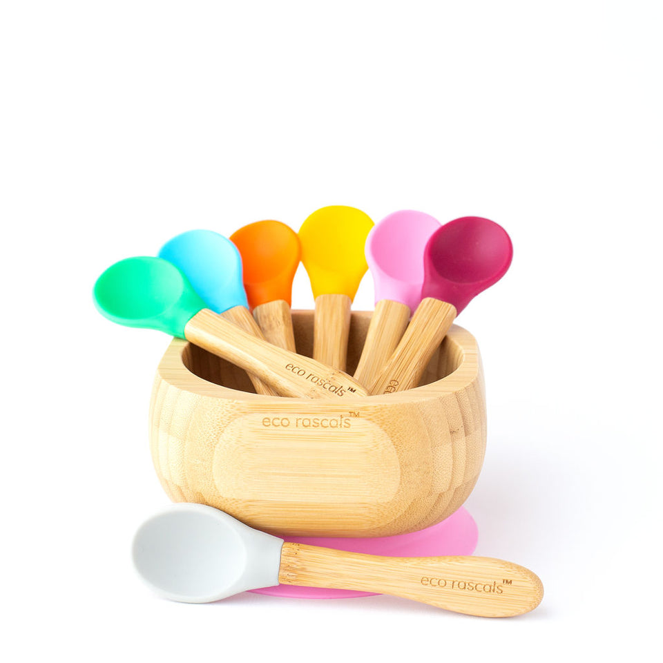 baby spoon tableware-Ecorascals