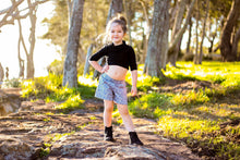 Pocket Play Shorts - Geometric - Little Balasana handmade kids clothes Australia