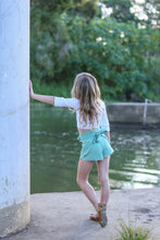Wrap Shorts - Limited Edition Magnolia Print - Little Balasana handmade kids clothes Australia
