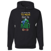 Travel Themed Hoodie: Free to Move About the Planet Black