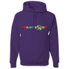 Travel Themed Hoodie: Travels R Us Purple