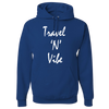 Travel Themed Hoodie: Travel N Vibe Royal Blue