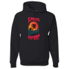 Travel Themed Hoodie: Sunburn Sunset Repeat Black