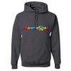Travel Themed Hoodie: Travels R Us Dark Gray