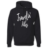Travel Themed Hoodie: Travelin' Vibes Black
