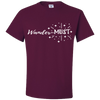 Travel Themed T-Shirt: Wander-MUST Maroon