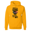 Travel Themed Hoodie: Dont Need Wifi Yellow